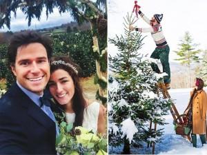 Tình yêu - Giới tính - Đám cưới Giáng sinh đẹp mộng mơ như xứ cổ tích