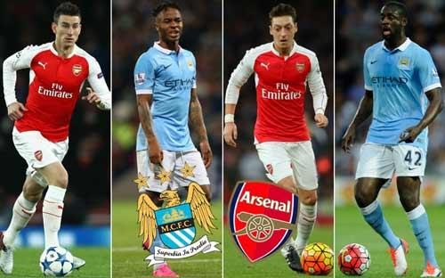 Đọ đội hình Arsenal – Man City: Khác biệt ở Ozil - 1