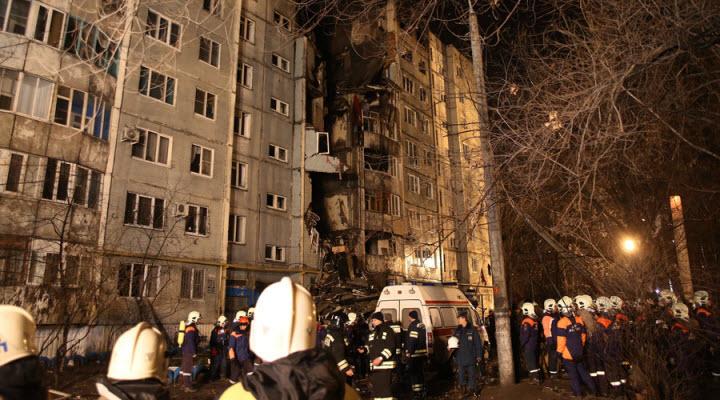 Nổ lớn tại nhà chung cư ở Nga, 5 người thiệt mạng - 1