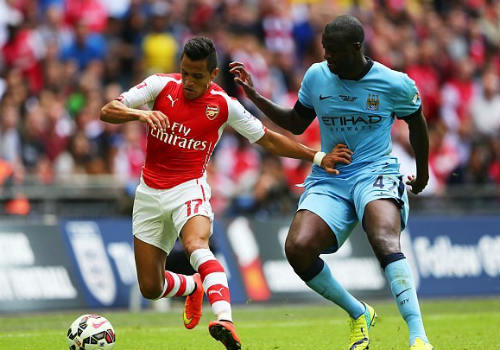 Arsenal vs Man City - 1