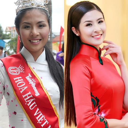 Hành trình 'vịt hóa thiên nga' của bộ tứ Hoa hậu Việt - 11