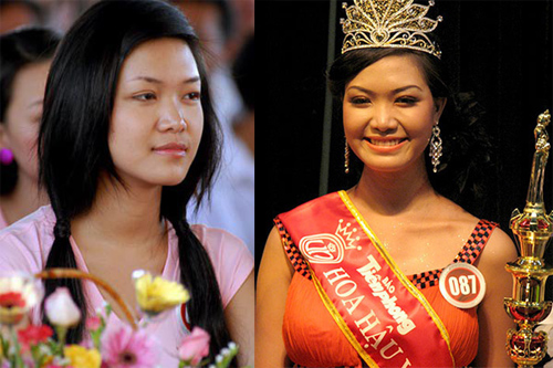 Hành trình 'vịt hóa thiên nga' của bộ tứ Hoa hậu Việt - 7