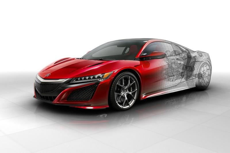 Công bố giá siêu xe Acura NSX - 3