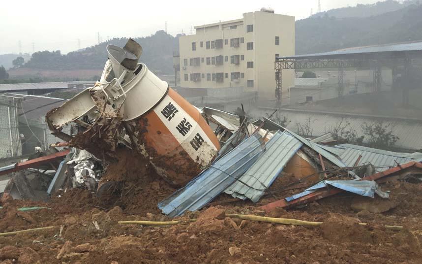 Toàn cảnh vụ sập 33 tòa nhà gần 100 người mất tích ở TQ - 11