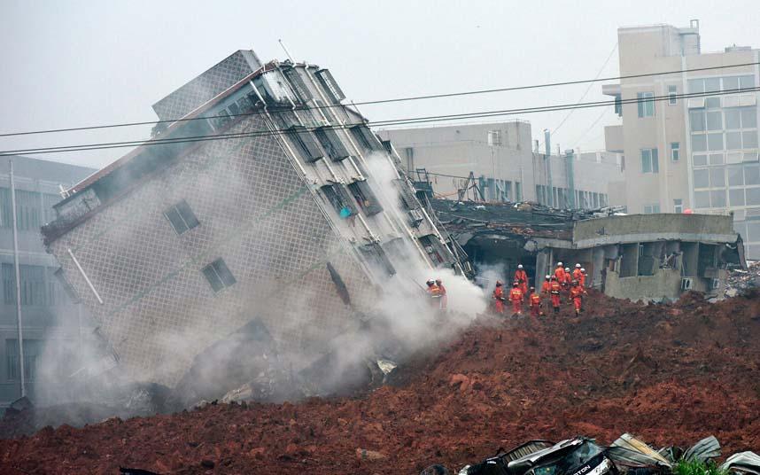 Toàn cảnh vụ sập 33 tòa nhà gần 100 người mất tích ở TQ - 3