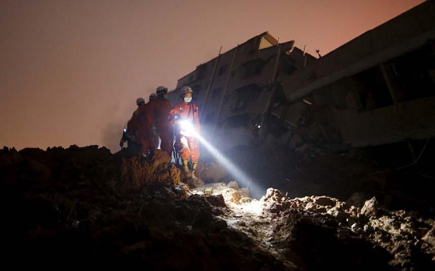 Toàn cảnh vụ sập 33 tòa nhà gần 100 người mất tích ở TQ - 5