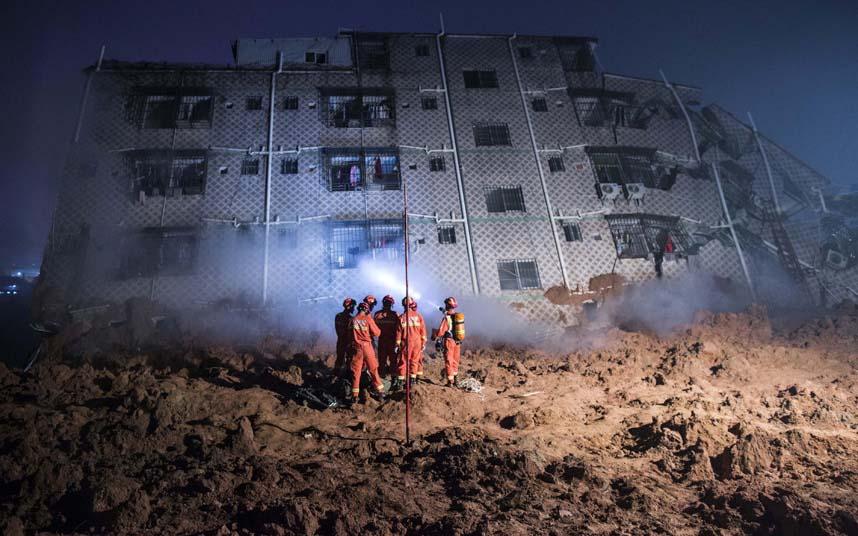 Toàn cảnh vụ sập 33 tòa nhà gần 100 người mất tích ở TQ - 6