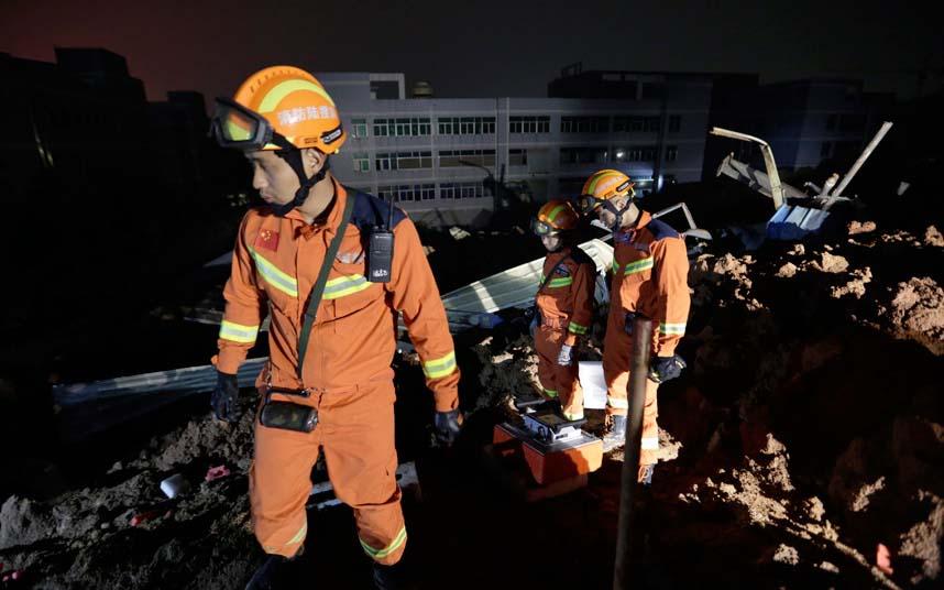 Toàn cảnh vụ sập 33 tòa nhà gần 100 người mất tích ở TQ - 7