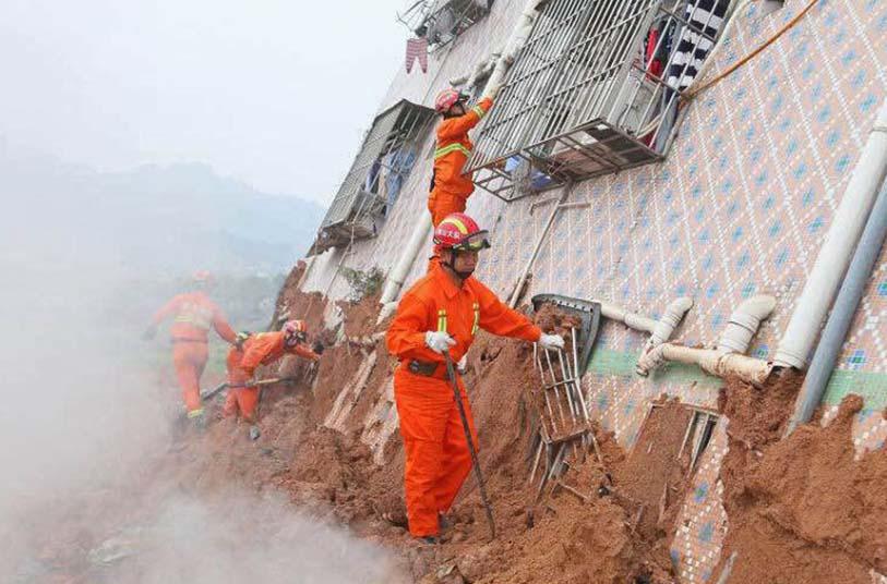 Toàn cảnh vụ sập 33 tòa nhà gần 100 người mất tích ở TQ - 8