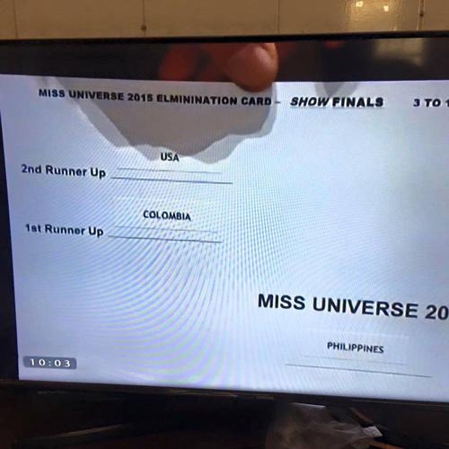 Rộ tin đồn kết quả Hoa hậu Hoàn vũ bị dàn xếp - 3