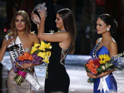 Rộ tin đồn kết quả Hoa hậu Hoàn vũ bị dàn xếp - 1