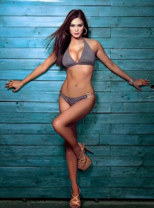 Hoa hậu Hoàn vũ 2015: Tập gym có 3 vòng hoàn hảo - 3