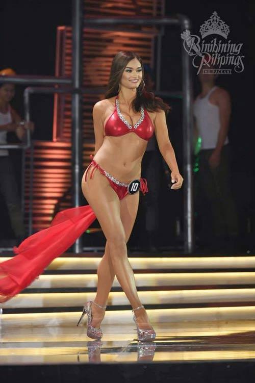 Hoa hậu Hoàn vũ 2015: Tập gym có 3 vòng hoàn hảo - 5