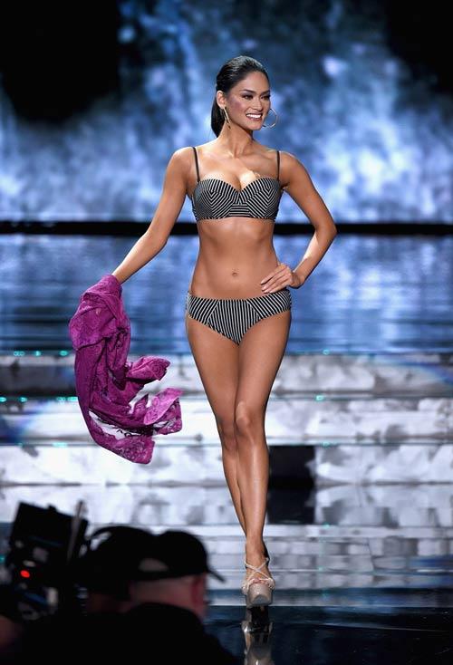 Hoa hậu Hoàn vũ 2015: Tập gym có 3 vòng hoàn hảo - 7