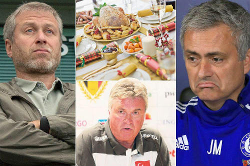 """Mourinho tư vấn, Hiddink """"chọc tức"""" Abramovich - 1"""