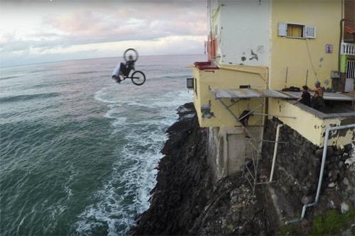 """""""Ảo thuật gia"""" xe đạp và màn chinh phục điên rồ - 6"""