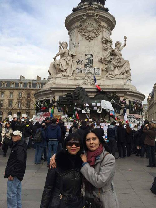 Danh ca Họa Mi vẫn bàng hoàng vì vụ khủng bố Paris - 2