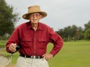Thể thao - Golf: Cụ ông gần 100 tuổi vẫn đánh 1 gậy trúng lỗ
