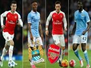 Bóng đá - Đọ đội hình Arsenal – Man City: Khác biệt ở Ozil