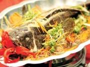 Ẩm thực - Cá hấp gừng thơm cay vừa nhanh vừa ngon