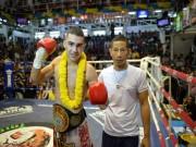 """Thể thao - Muay Thái: Cú né đá đấm móc """"như thần"""""""