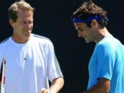 Thể thao - Tennis 24/7: Federer vẫn nặng tình với thầy cũ