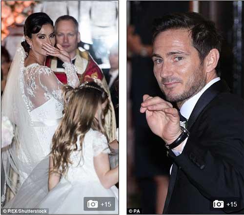 Dàn sao Chelsea tề tựu ở đám cưới Lampard - 2