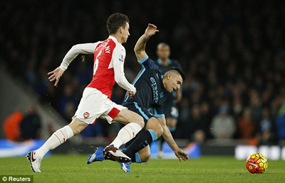 Arsenal vs Man City - 3