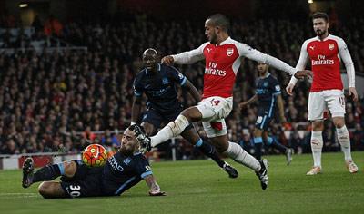 Chi tiết Arsenal - Man City: Yaya Toure lập tuyệt phẩm (KT) - 4