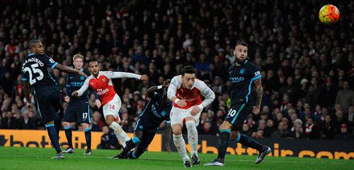 video Arsenal vs Man City - 1