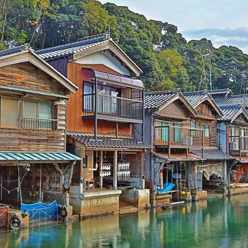 Tận thấy làng chài Nhật Bản đẹp không thua Venice - 1