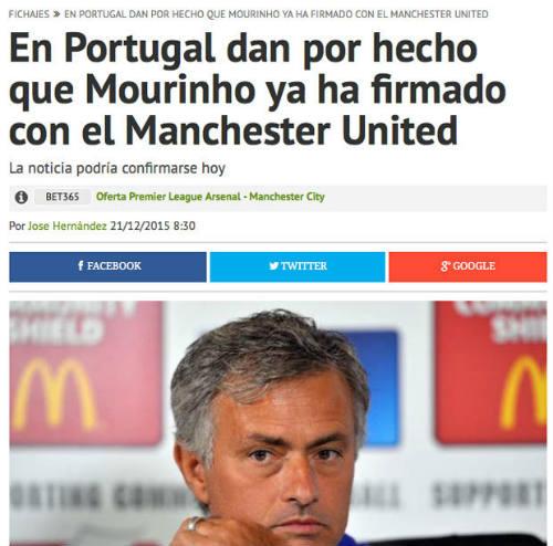 Bị sa thải chưa đầy 1 ngày, Mourinho đã được MU săn đón - 2