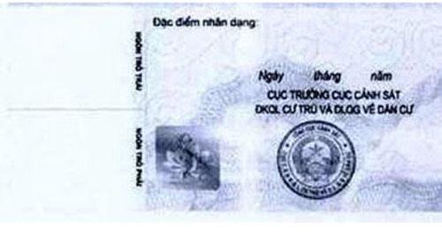 Từ 1-1-2016, cấp thẻ căn cước công dân - 2