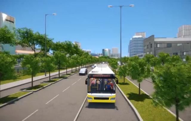 Hình ảnh mô phỏng xe bus nhanh sắp hoạt động tại TPHCM - 7
