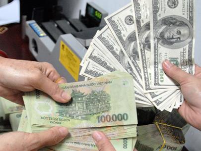 Vì sao tỷ giá VNĐ/USD vẫn neo ở mức sát trần? - 1