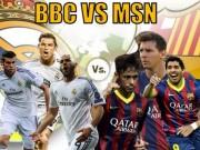 Bóng đá Tây Ban Nha - Giá trị các bàn thắng M-S-N hơn đứt B-B-C