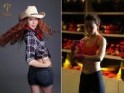 Thể thao - Nhan sắc mê đắm của Á hậu bỏ thời trang đi học võ