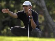 Thể thao - Golf 24/7: Ông Obama còn chơi golf nhiều hơn Tiger Woods
