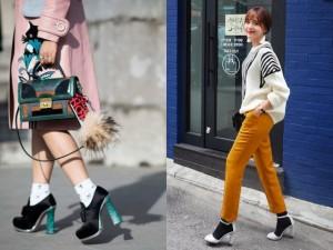 3 nguyên tắc cơ bản khi muốn phối giày cao gót và tất