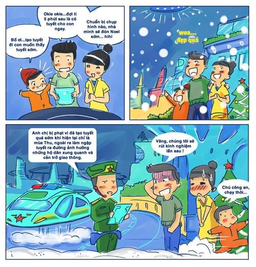 Viễn cảnh Giáng sinh tuyệt vời trong tương lai - 2
