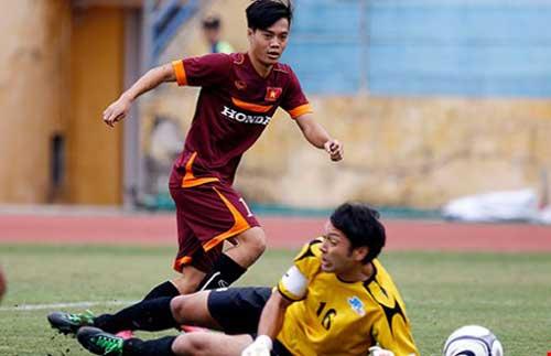 Đội U-23 Việt Nam: Bất an hàng công - 1