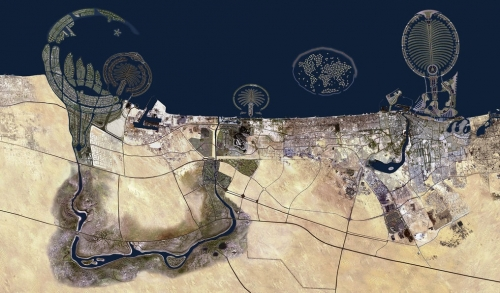 Choáng váng sự thay đổi chóng mặt ở thành phố Dubai - 2