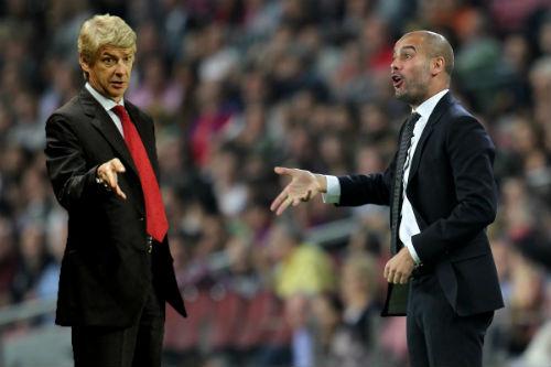 """Chưa sang Anh, Guardiola đã bị Wenger """"dằn mặt"""" - 1"""