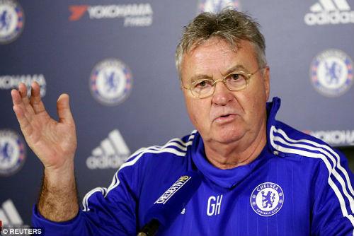 """HLV Hiddink tâm sự việc làm """"lính cứu hỏa"""" ở Chelsea - 1"""