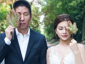 Á hậu Diễm Trang khoe ảnh cưới lãng mạn ở châu Âu