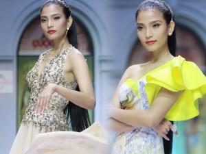 Trương Thị May liên tục làm mẫu kết màn