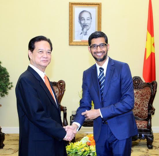 CEO Google vừa đến Việt Nam có gì đặc biệt? - 1