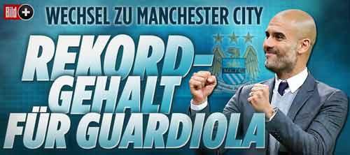"""Guardiola """"chắc suất"""" đến Man City với lương khủng - 2"""