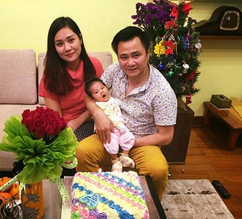 Cận cảnh con gái 2 tháng tuổi của danh hài Tự Long - 1
