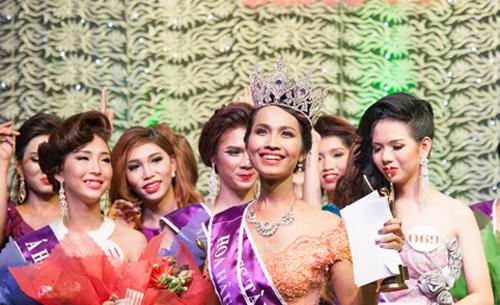 Ngắm nhan sắc Hoa hậu chuyển giới Việt Nam đầu tiên - 5